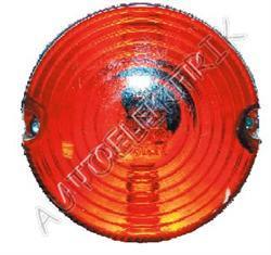 Obrysové světlo rudé, kulaté