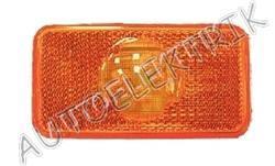 Boční pozička, obrysové světlo oranžové LED, 24V, ADR, VOLVO