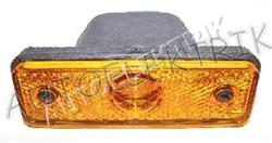 Boční pozička, obrysové světlo oranžové LED, 24V, ADR