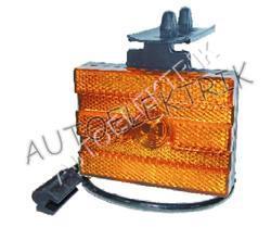 Boční pozička, obrysové světlo oranžové LED, 24V,ADR