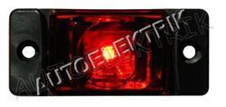 Obrysové světlo červené LED 12V/24V