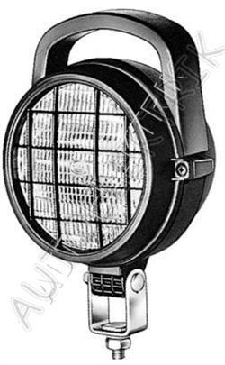 Pracovní světlo s vypínačem, mřížkou a držadlem