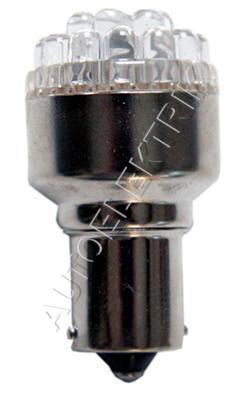 Žárovka LED, 24V/(21W), BA 15s, bílá, spotřeba 1,4W