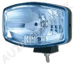 Přídavný dálkový světlomet modrý, 244x137mm