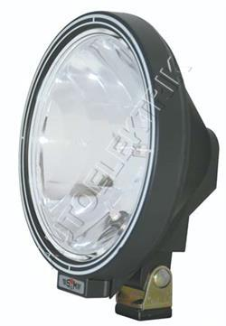 Dálkové světlo, průměr 223 mm, čiré sklo s LED prstenem