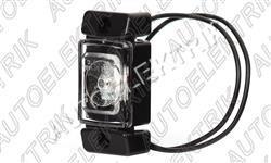 Obrysové světlo bílé, přední pozička, LED 12V/24V