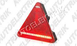 Koncové světlo - trojúhelník, pravé 12/24V, LED