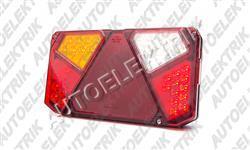 LED koncové světlo na vozík levé