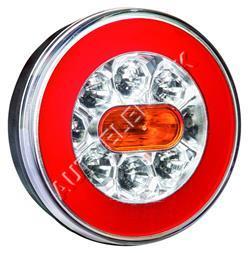 Koncové kulaté světlo Ø140 LED