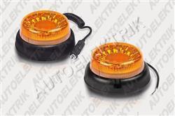 Výstražný oranžový maják FT-100 LED