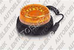 Výstražný oranžový maják FT-100 LED magnetický