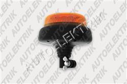 Výstražný oranžový maják FT-100 LED na tyčku