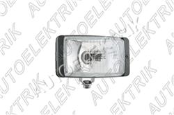 Přídavný dálkový světlomet, 138x78x60 s krytkou