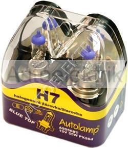 Krabička BLUETOP, H7, 12V 55W, PX26d, 2KS