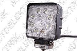 LED světlo na pracovní stroje 8x LED 8-30V