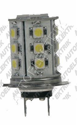 Žárovka LED, H7 12V/(55W), 18LED/3SMD
