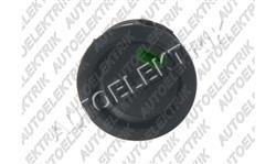 Kolíbkový vypínač černý s zelenou kontrolkou