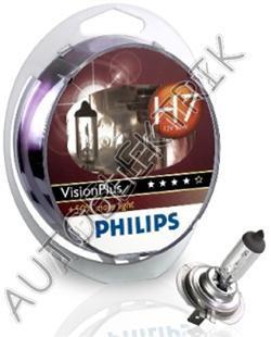 Žárovka H7 12V55W VisionPlus 50% more light