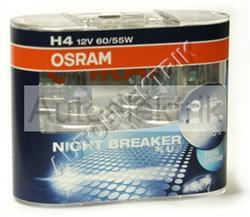Krabička NIGHT BREAKER PLUS, H4, 12V 60/55W, 2KS