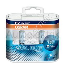 Krabička COOL BLUE, H7, 12V 55W, PX26d, 2KS