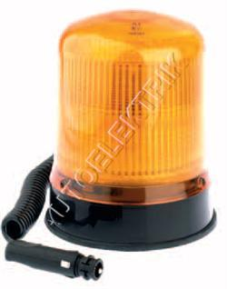 Výstražný maják Britax magnetický, oranžový, dvojzáblesk s autozásuvkou 12V/24V, 64km/h