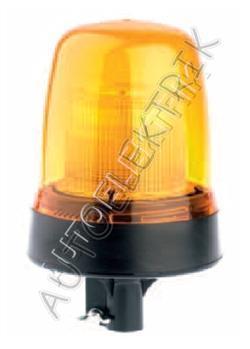 Výstražný maják Britax 292, oranžový, zábleskový, 12/24V