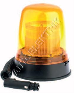 Výstražný maják Britax 290, oranžový, záblesk s autozásuvkou 12V/24V, 80km/h