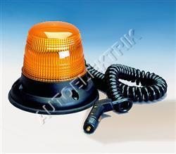 Výstražný maják Britax B14, oranžový, s autovidlicí, 12V/24V, 80km/h