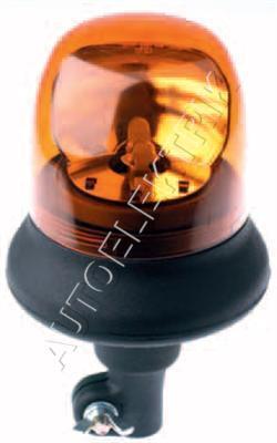 Výstražný maják Britax B25 24V, oranžový, se žárovkou H1