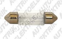 Žárovka 12V/10W SV8, 5 (11x36mm) sufit